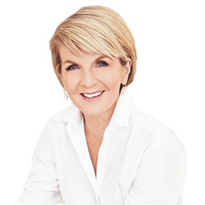 The Hon. Julie Bishop